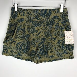 Free People - High Waist Drapey Pocket Shorts
